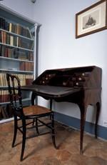 La chambre de Stéphane Mallarmé, Coll. MDSM, Vulaines-sur-Seine