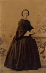 C. Courageux, Marie Gerhard,  1862, photographie