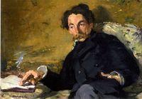 Portrait de Stéphane Mallarmé par Édouard Manet