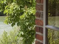 La Seine vue d'une fenêtre de « la petite maison au bord de l'eau »