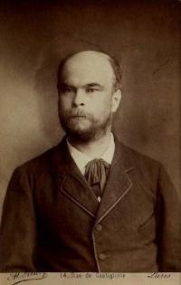 Alcide Allevy, Photographie de Verlaine en buste