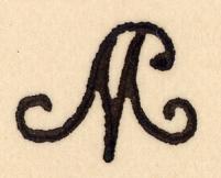 Monogramme de Mallarmé, Inv. 997.21.1 et 2, Coll. MDSM, Vulaines-sur-Seine