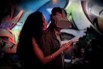 Lecture performée en réalité virtuelle par Rim Battal