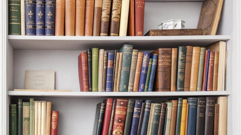 La bibliothèque anglaise de Stéphane Mallarmé (détail)